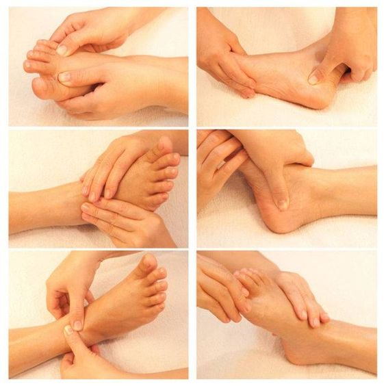 Reflexology-massage